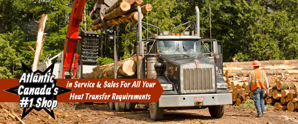 Atlantic Canada's #1 Shop in Service & Sales For All Your Heat Transfer Requirements | Timber Hauler